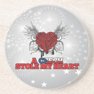 A Czech Stole my Heart Drink Coaster