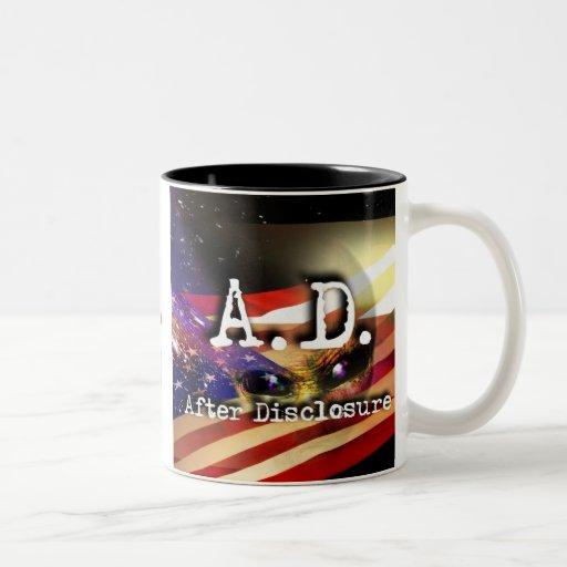 A.D.  - Coffee Mug (w/ Stellar)