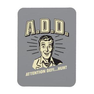 A.D.D.: ¿Atención Defi… Huh? Imán Rectangular