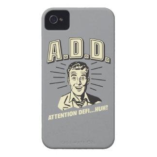 A.D.D.: Attention Defi…Huh? Case-Mate iPhone 4 Case