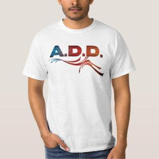 A.D.D. Banda de rock - camisa de la fan
