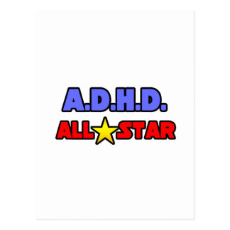 A.D.H.D. All Star Post Cards