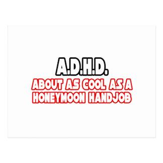 A.D.H.D...Not Cool Postcard