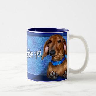A Dachshund Coffe Cup