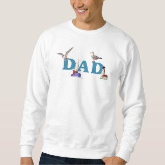 A Dad Ahoy Pullover Sweatshirts