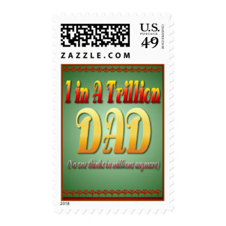 A Dad In A Trillion postage