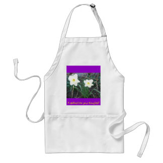 A daffodil for your thoughts? adult apron