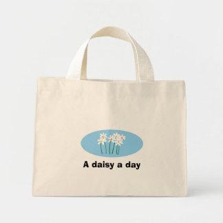A daisy a day mini tote bag