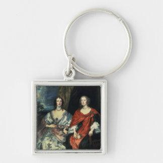 A. Dalkieth  and Lady Kirk, 1640 Keychain