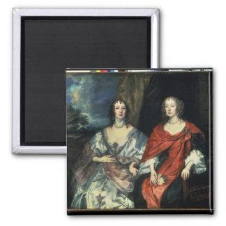 A Dalkieth and Lady Kirk 1640 Fridge Magnet