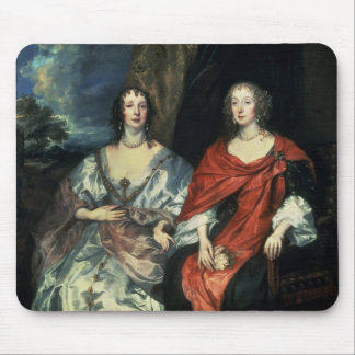 A. Dalkieth  and Lady Kirk, 1640 Mouse Pad