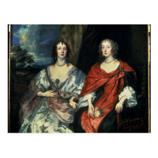 A. Dalkieth  and Lady Kirk, 1640 Post Card