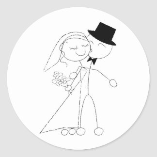 A Dance and A Kiss Classic Round Sticker
