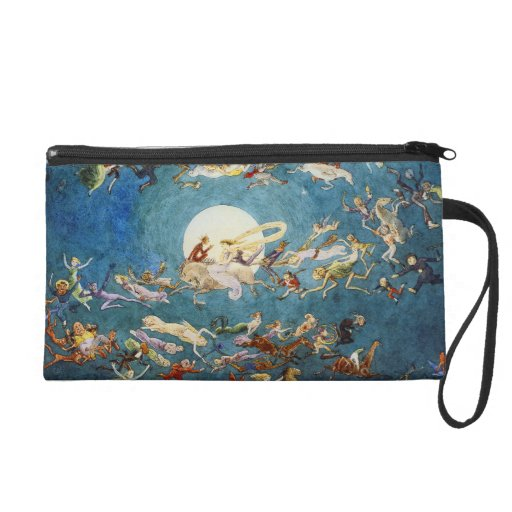 A Dance Around the Moon Wristlet Clutches