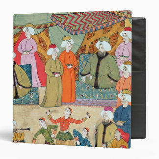 A Dance for the Pleasure of Sultan Ahmet III 3 Ring Binder