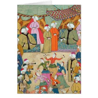 A Dance for the Pleasure of Sultan Ahmet III Card