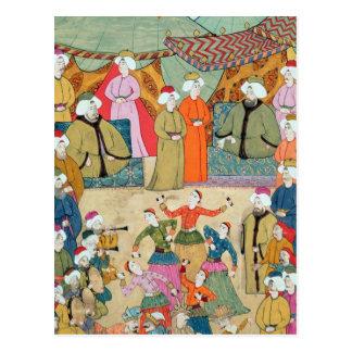 A Dance for the Pleasure of Sultan Ahmet III Post Card