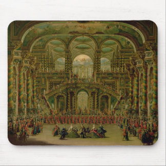 A Dance in a Baroque Rococo Palace Mouse Pad