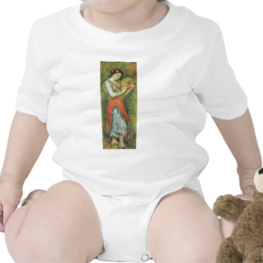 A Dancer With A Tambourine By Pierre-Auguste T Shirts