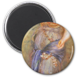 A Dancer With Castanets By Pierre-Auguste Renoir ( Magnet