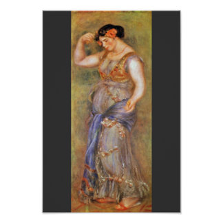 A Dancer With Castanets By Pierre-Auguste Renoir ( Posters