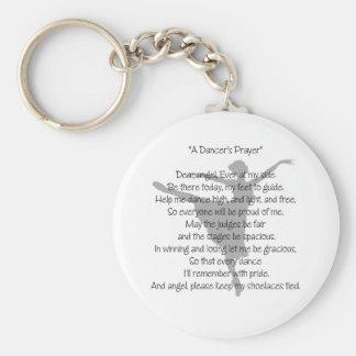 A Dancer's Prayer Dance Keychain(s)