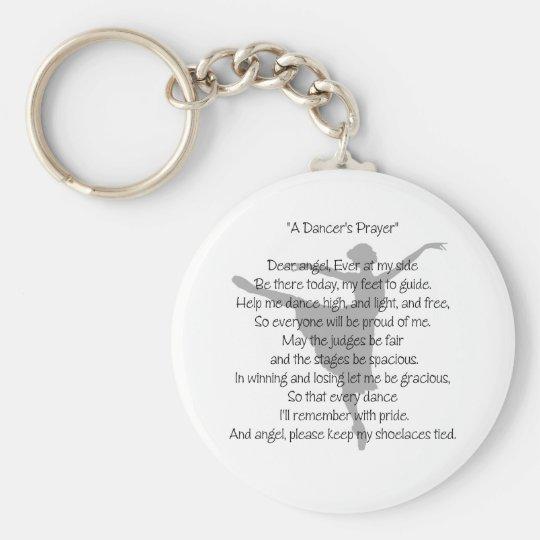 A Dancer's Prayer Dance Keychain(s) Keychain