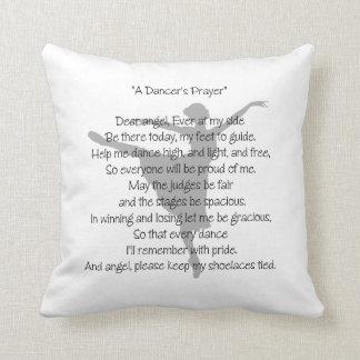 A Dancer's Prayer Throw Pillow