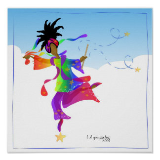 A Dancer's Rite to Spring Poster