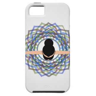 A dancing girl viewed from top iPhone SE/5/5s case