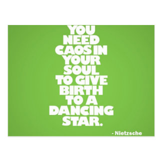 A Dancing Star Postcard