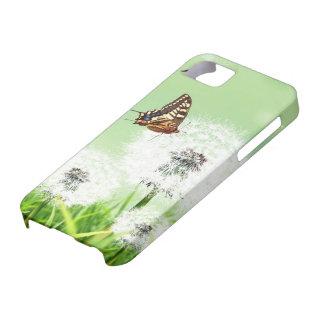 A Dandelion Butterfly iPhone SE/5/5s Case