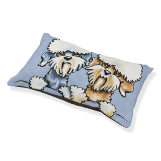 A Dandie Pair Pet Bed