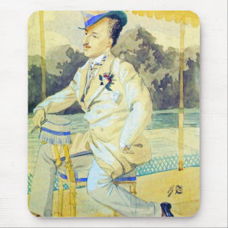 A dandy by James Tissot Mouse Pad
