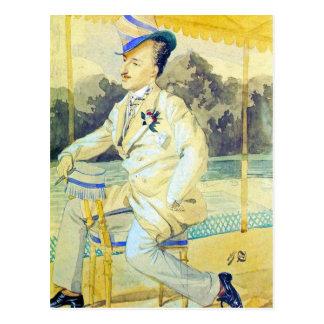 A dandy by James Tissot Postcards
