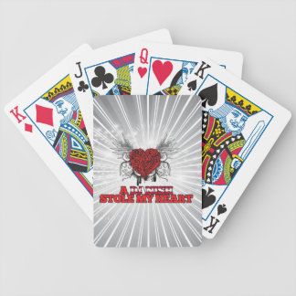 A Danish Stole my Heart Bicycle Playing Cards