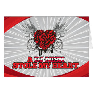 A Danish Stole my Heart Cards