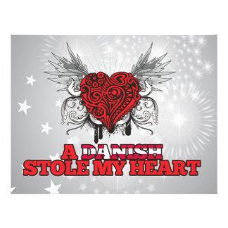A Danish Stole my Heart Flyer