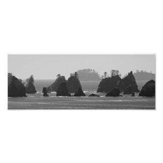A Dark Coastline. Photograph