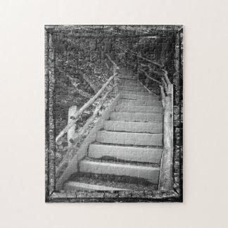 A Dark Path Jigsaw Puzzle