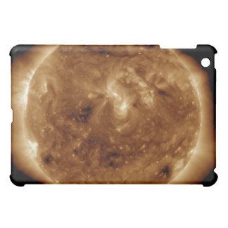A dark rift in the sun's atmosphere iPad mini cover