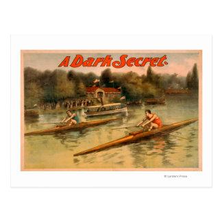 A Dark Secret Theatrical Poster Postcard