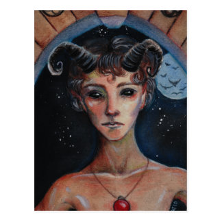 A Dark Undercurrent - the faun KAT Postcard