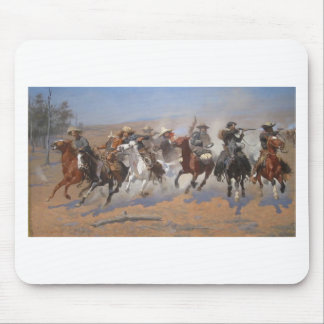 A Dash for the Timber by Frederic Remington Mouse Pad
