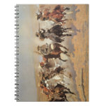 A Dash For Timber by Frederic Remington, Cowboys Note Books