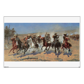 A Dash For Timber by Remington Vintage Cowboys Wall Decor