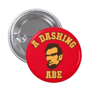 A Dashing Abe Logo Button