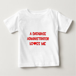 A Database Administrator Loves Me Tee Shirt