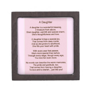 A daughter gift box