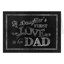 A Daughter's First Love is her Dad